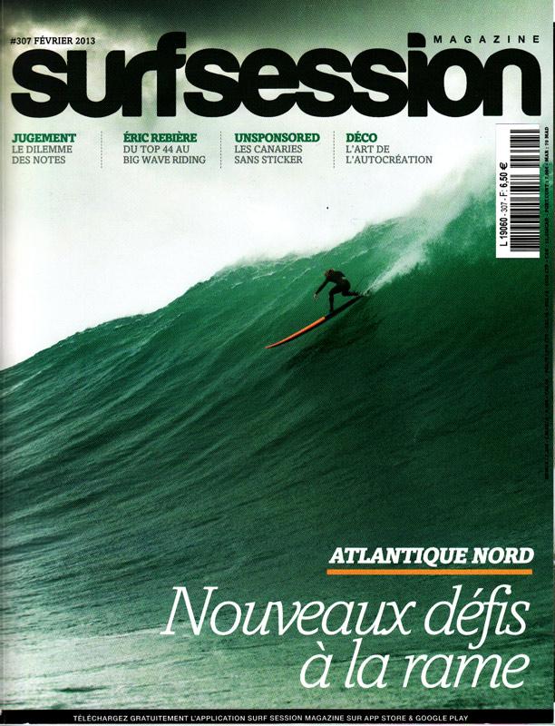 Couverture Surf Session, Février 2013