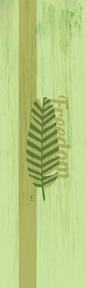 Déco Surf 'Banana tree leaf'