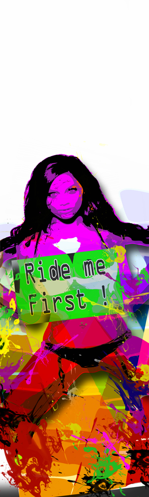 "Déco surf ""Ride me First"""