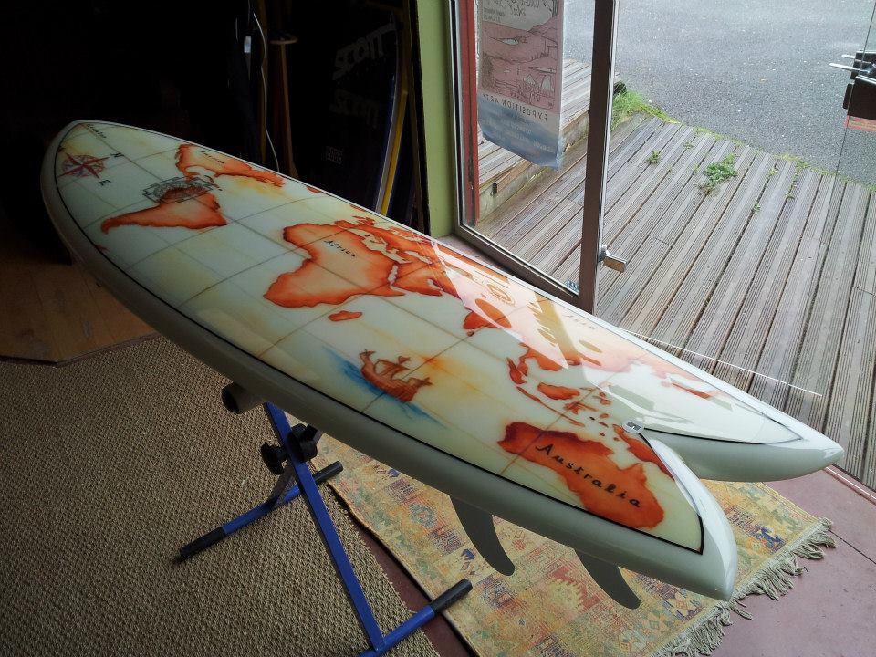 planches de surf sur mesure d cor es par impression surf designs. Black Bedroom Furniture Sets. Home Design Ideas