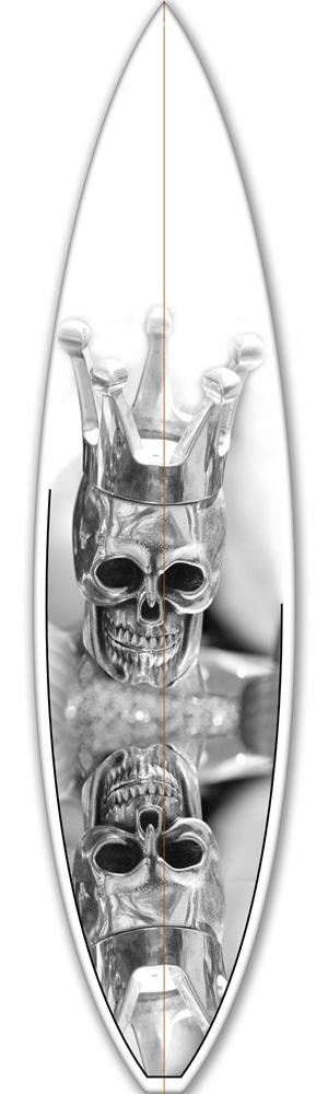 Surf Déco Skull